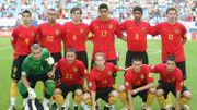 Les Espoirs en 2007, lors du match contre la Serbie