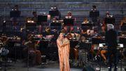 La soprano russe Anna Netrebko était la tête d'affiche de la réouverture au public de l'Opéra national de Grèce