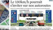 Êtes-vous favorable aux 130km/h sur nos autoroutes ? C'est dans la revue de presse