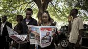 Des partisans d'Emmanuel Ramazani Shadary à Kinshasa