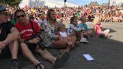 Tout au long du week-end, plusieurs centaines de spectateurs et de participants se sont rassemblés.