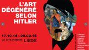 Une exposition inédite sur l'art dégénéré selon les nazis organisée à Liège