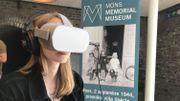 Revivez la libération de la ville de Mons en1944 grâce à la réalité virtuelle