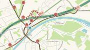 Un 9 octobre dont se souviendront les automobilistes de passage à Mons