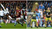 Manchester City et Liverpool s'en sortent tous les deux en fin de match, KDB, Origi et Engels en action