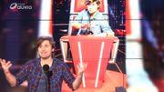 1er Blind de The Voice... Marc Pinilla a buzzé grave !