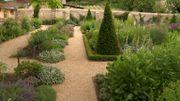 Le jardin du presbytère de Chédigny