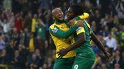 Premier doublé de Mbokani en Premier League, Norwich et Newcastle descendent