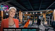 Sa salle de fitness ferme ses portes du jour au lendemain: elle perd 6 mois d'abonnement