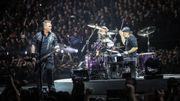 Metallica partage des lives à Anvers