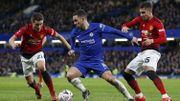 Manchester United, avec Lukaku, élimine Chelsea et Hazard en Cup