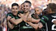 Robin van Persie prolonge d'un an à Feyenoord