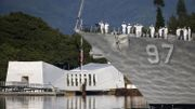 Commémorations au Mémorial Arizona à Pearl Harbor