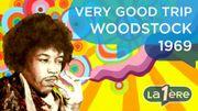 WOODSTOCK 1969: Vendredi 15 août 1969, premier jour du festival (Episode 4)