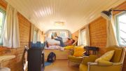 Maison moderniste transformée en habitation kangourou