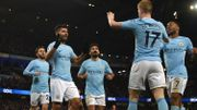 3 assists de De Bruyne et 4 buts d'Agüero, Man City balaie Leicester