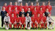 Le groupe des Diables pour l'Euro 2000