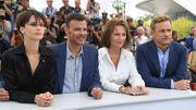 """Marine Vacth, François Ozon, Jacqueline Bisset et Jérémie Renier, pour """"L'amant double"""""""