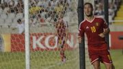 Le but d'Eden Hazard libère les Diables