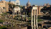 Rome: La construction d'une ligne de tram ravit les archéologues