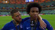 """Un Eden Hazard """"muy feliz"""" vient prendre des cours de portugais en pleine interview"""