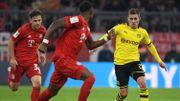 Dortmund n'arrive toujours pas à prendre des points au Bayern qui s'impose 4-0