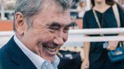 """L'hommage de Christian Prudhomme: """"Monsieur Merckx, vous êtes un seigneur"""""""
