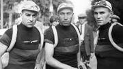 Georges Lemaire, Joseph Moerenhout et Alfons Deloor, le 27 juin 1933
