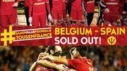 Après Belgique - Italie, Belgique - Espagne est sold out