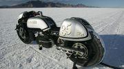 Une des motos qui a valu à Fred Krugger le titre de champion du monde des constructeurs indépendants