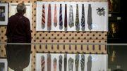 La cravate, symbole de pouvoir, examinée sous toutes ses coutures à Zurich