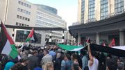 "850 participants au rassemblement ""Stop the massacre in Gaza"" à Bruxelles"