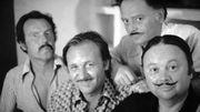 Jean Graton avec Tibet, Uderzo et Gosciny