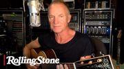 Sting joue pour ses fans depuis sa maison en Angleterre