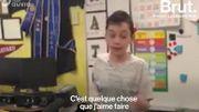 Atteint d'autisme, il explique ses troubles à tous ses camarades
