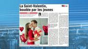 La St Valentin est boudée par les jeunes