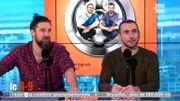 Le duo d'humoristes français 'Les Décaféinés' lancent une machine à rire