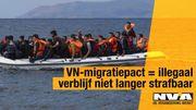 """""""Pacte sur les migrations de l'Onu = le séjour irrégulier n'est plus punissable"""""""