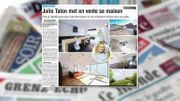 Julie Taton met en vente sa très très belle maison !