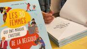 Audrey Vanbrabant raconte aux enfants le destin de 30 femmes qui ont marqué l'Histoire de la Belgique