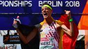 Koen Naert en or sur le marathon des Championnats d'Europe
