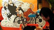 Tintin, une source d'inspiration aussi pour la scène
