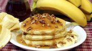 Recette : délicieux pancakes bananes avec 2 ingrédients