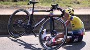 Tour de France: abandon de Sergio Higuita après deux chutes