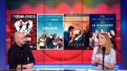 """Alléluia, les salles de cinéma rouvrent: """"Adieu Les cons"""" et """"Drunk"""" parmi les films coups de cœur de Cathy"""