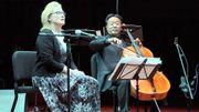 Quand Meryl Streep récite de la poésie sur fond de violoncelle interprété par Yo-Yo Ma