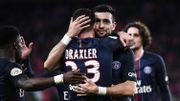 Paris, sans Meunier, bat Lyon et tient le rythme de Monaco