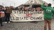 La CSC s'est joint aux manifestations à Mons