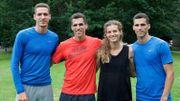 Les Olympiens vus par leurs proches: les 4 Borlée et leur soeur