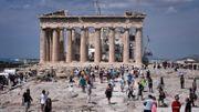 L'Acropole d'Athènes ferme l'après-midi pour cause de canicule